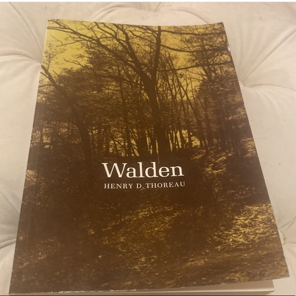 The Illustrated Walden by Henry D. Thoreau 1973